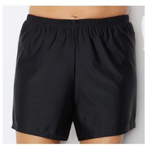 Loose Swim Shorts w/brief Bottom Swimsuits For All